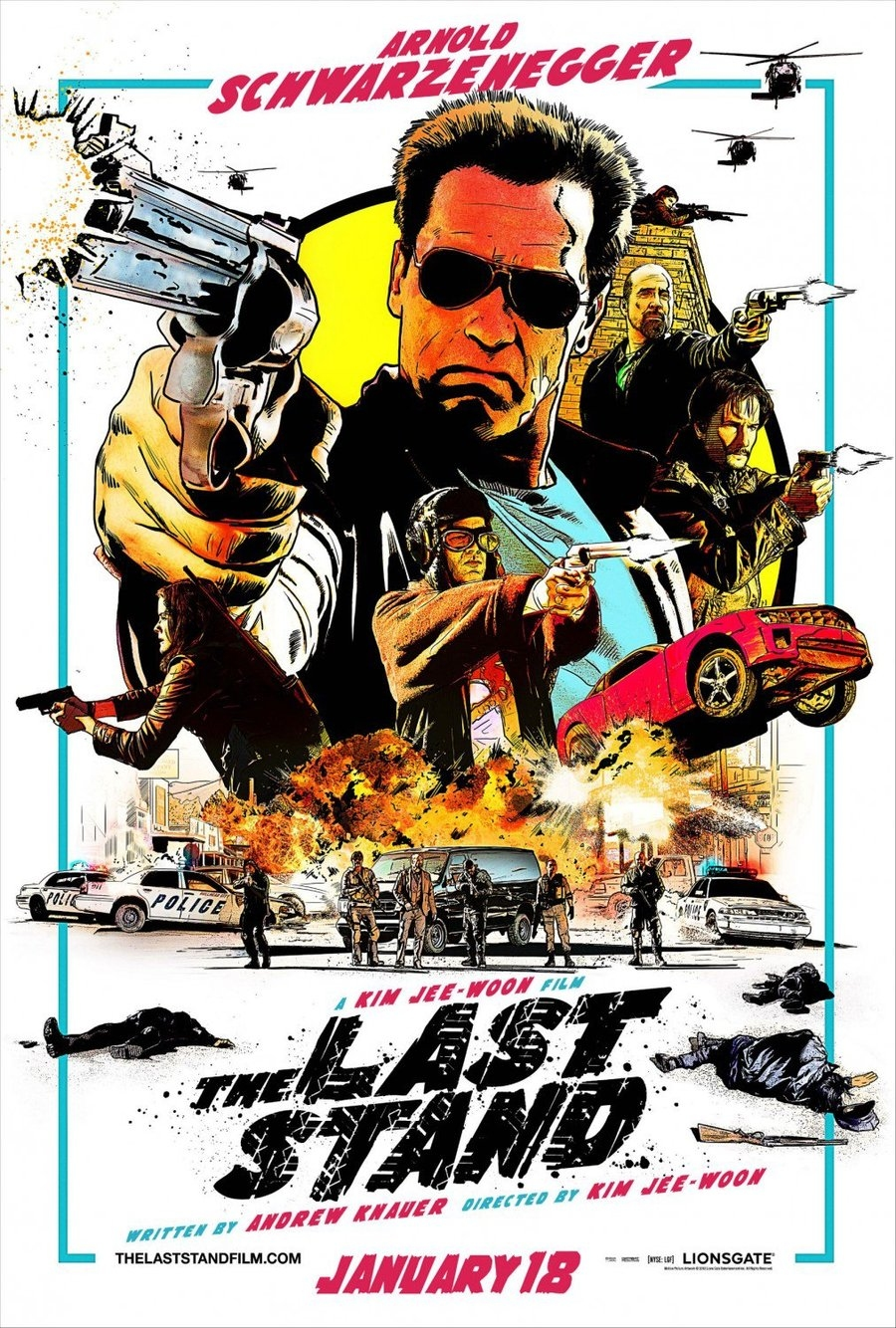 The Last Stand - Movie Poster #1 (Original)