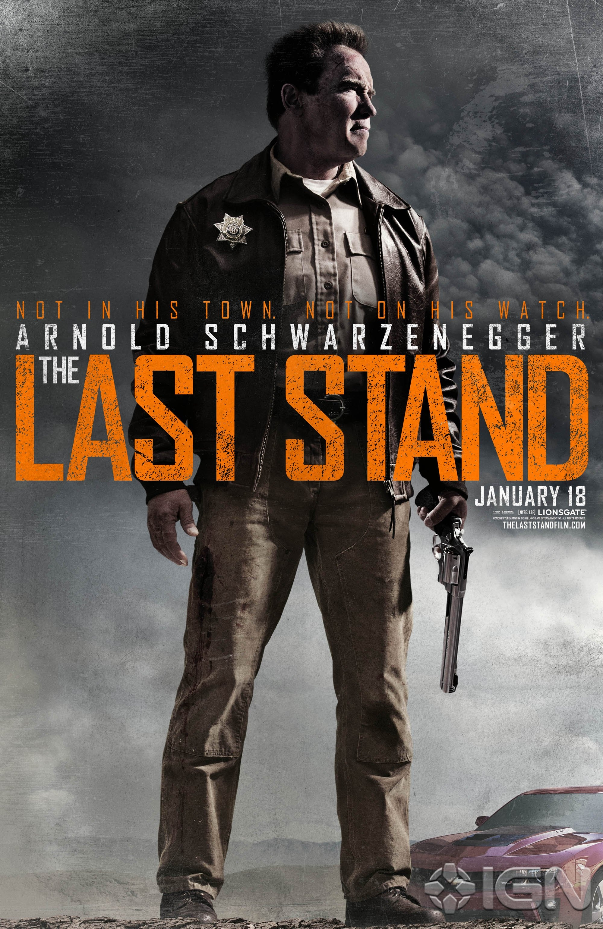 The Last Stand - Movie Poster #2 (Original)