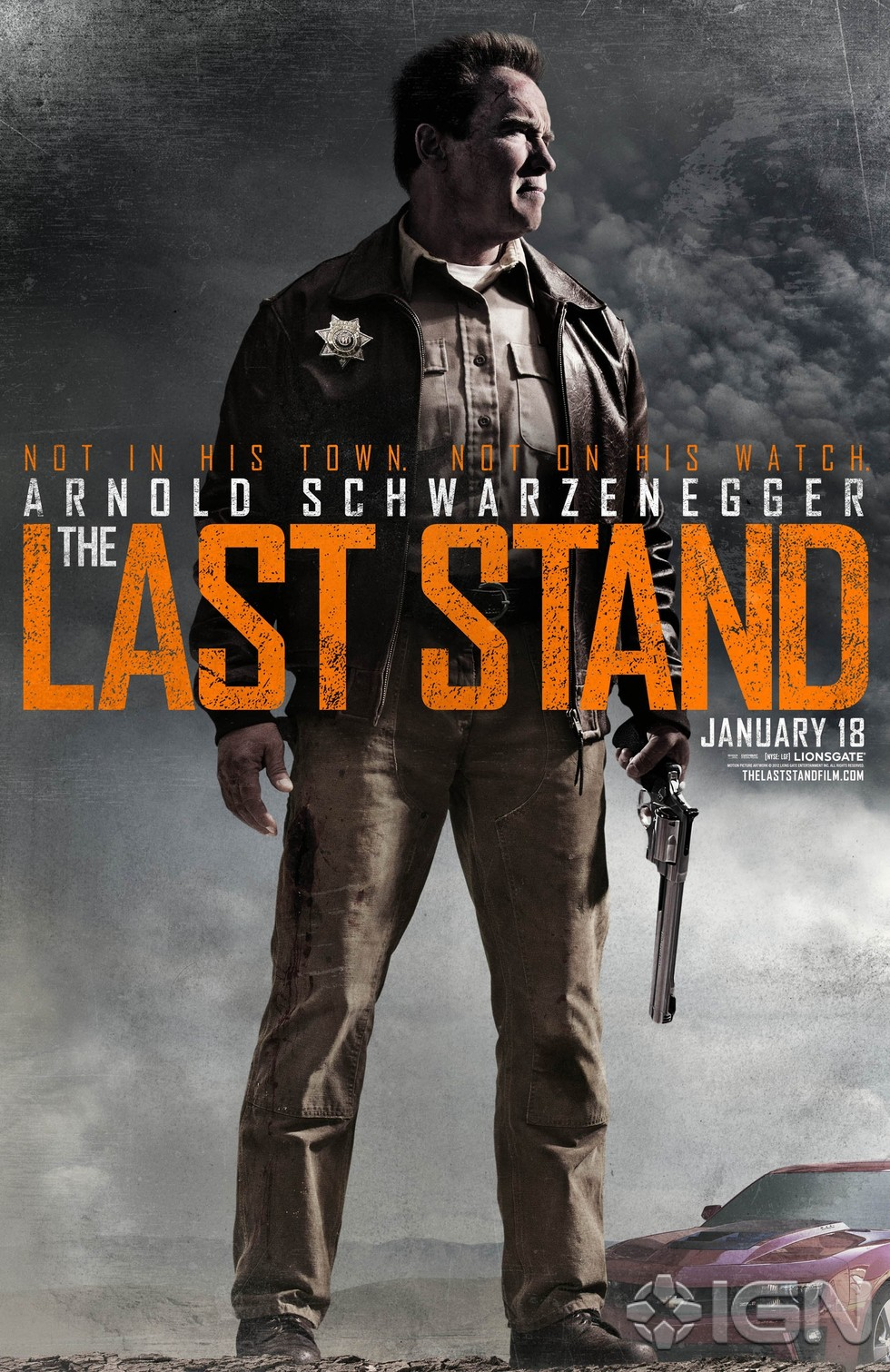 The Last Stand - Movie Poster #2 (Large)