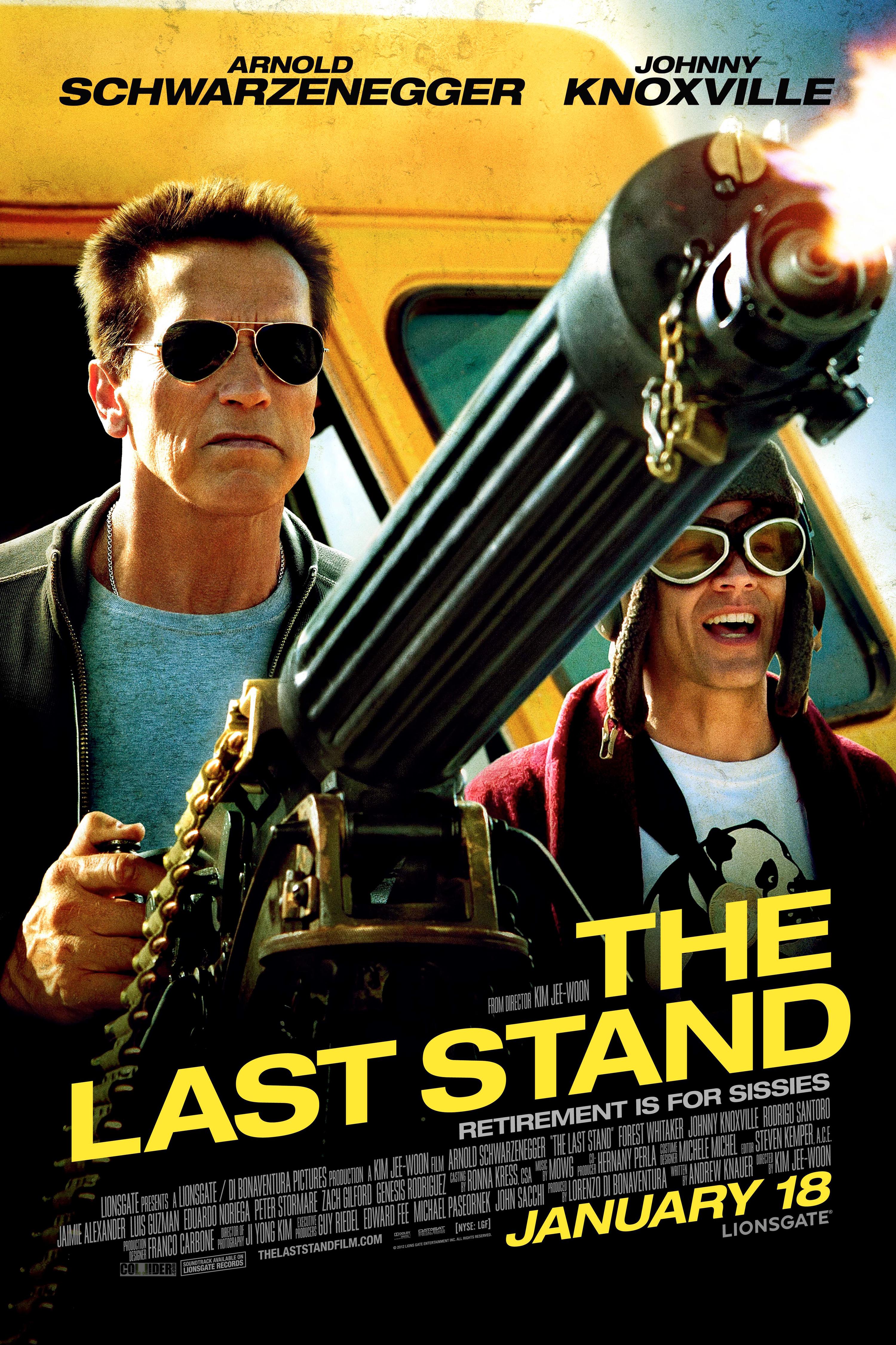 The Last Stand - Movie Poster #3 (Original)
