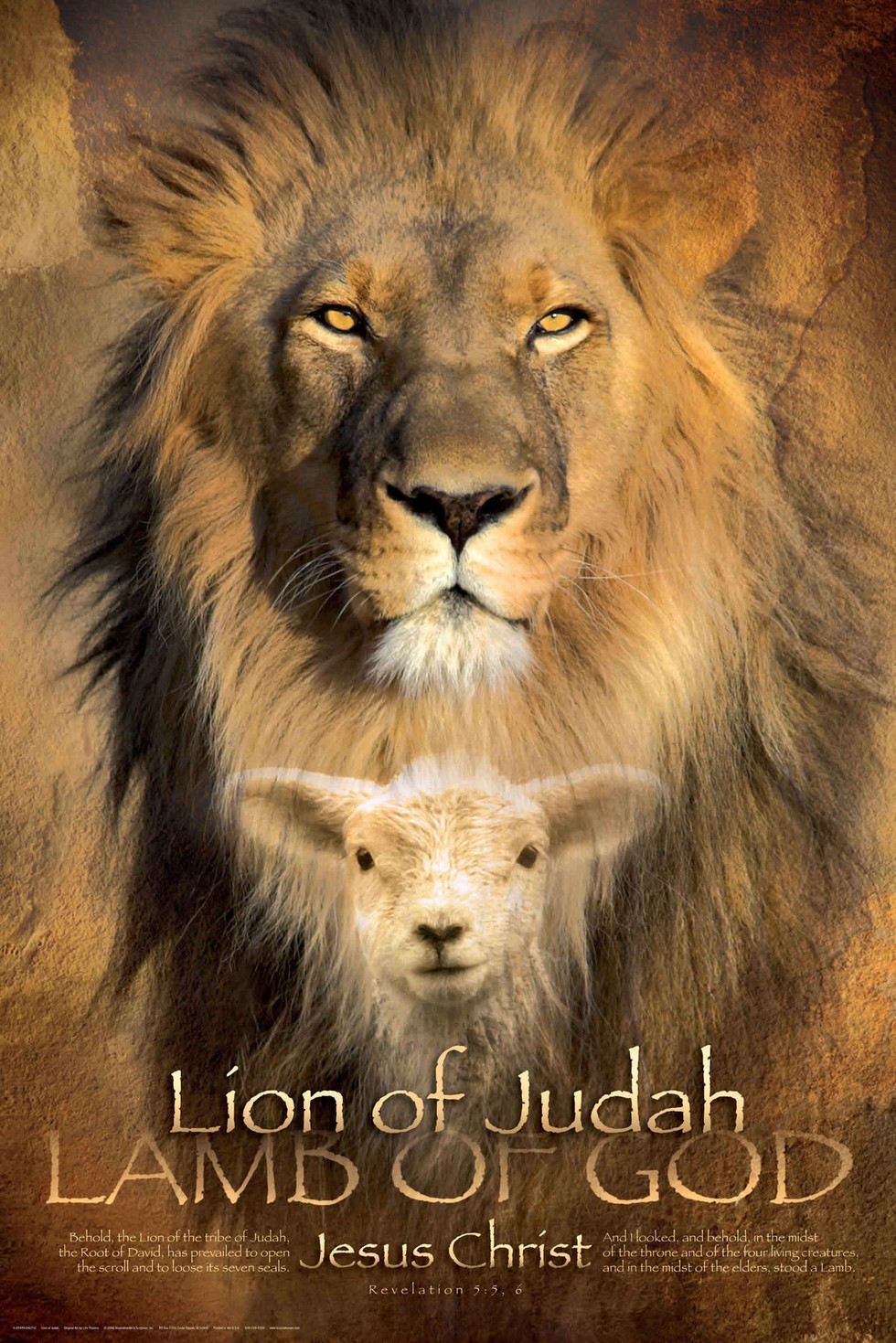 The Lion of Judah - Movie Poster #1 (Large)
