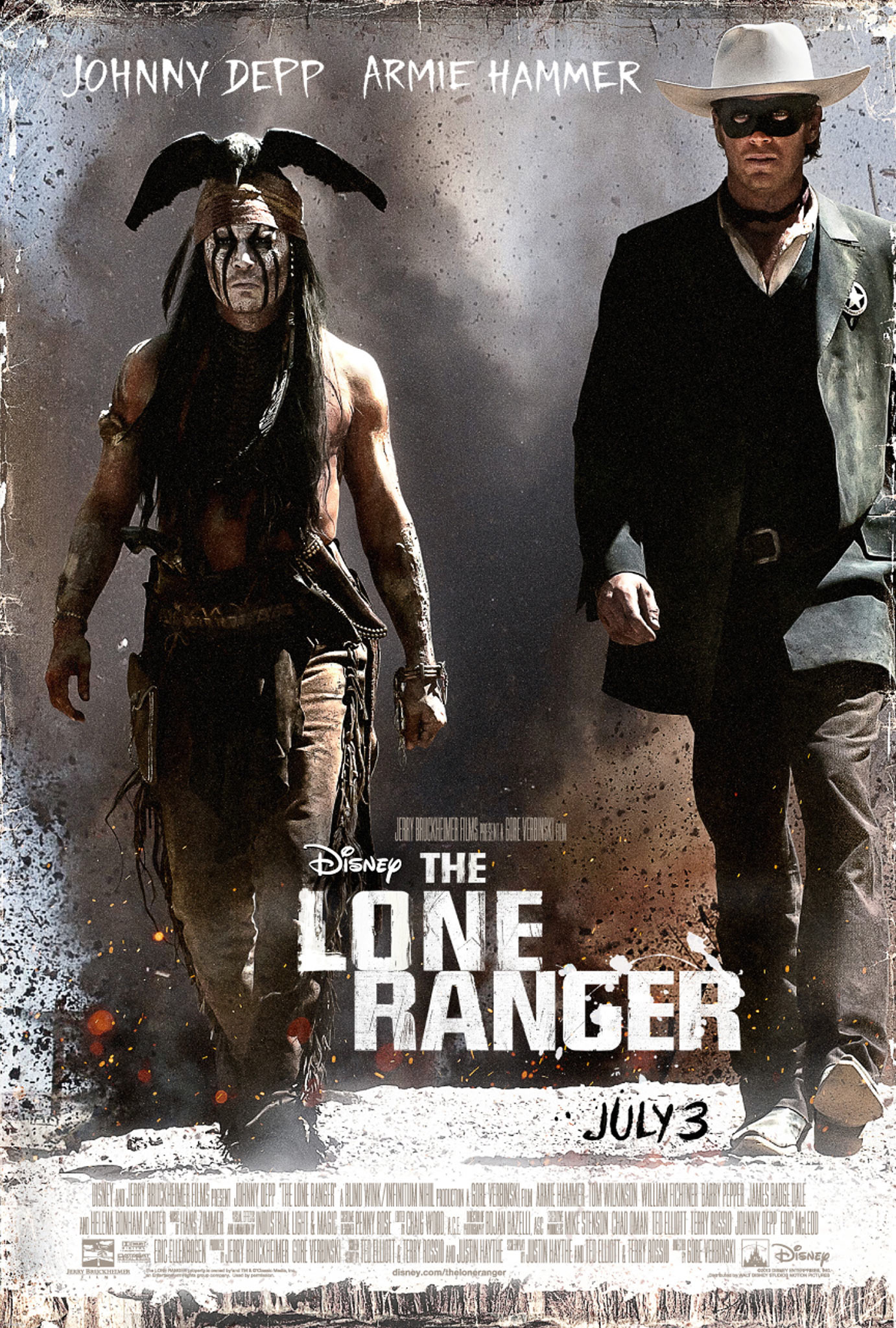 The Lone Ranger - Movie Poster #1 (Original)