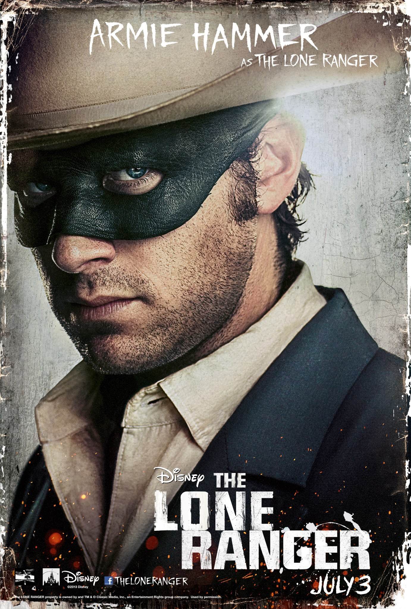 The Lone Ranger - Movie Poster #2 (Original)