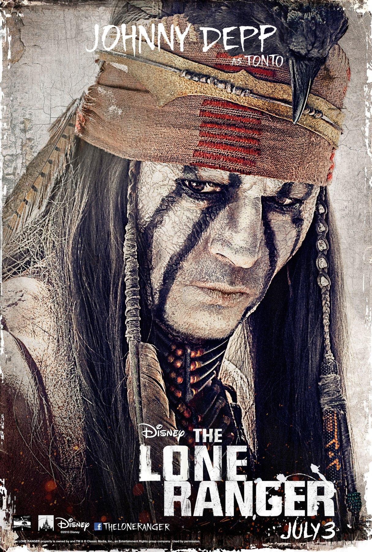 The Lone Ranger - Movie Poster #3 (Original)