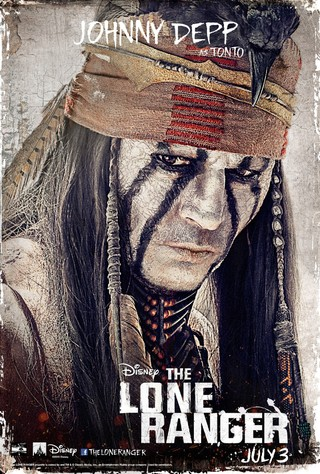 The Lone Ranger - Movie Poster #3 (Small)