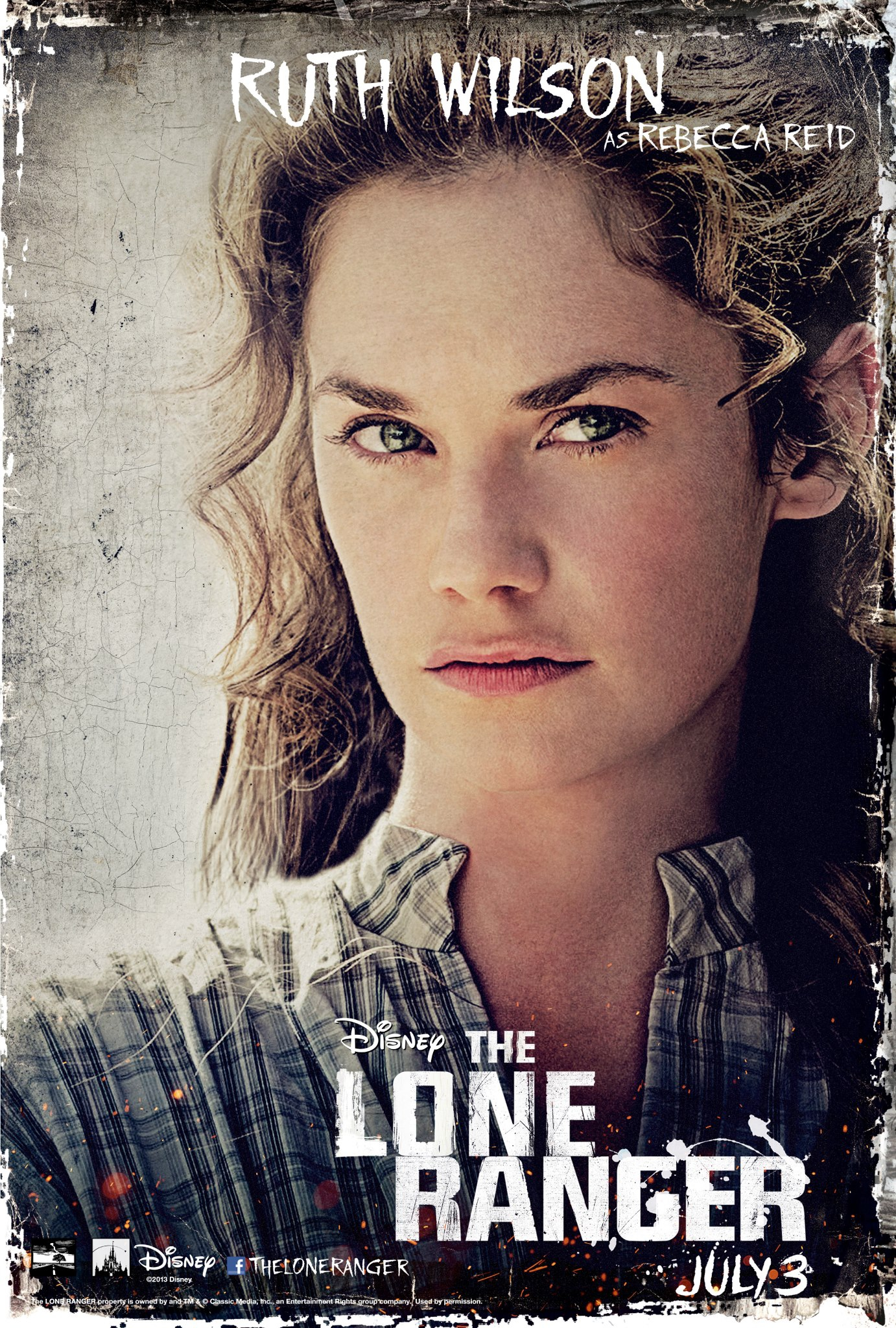 The Lone Ranger - Movie Poster #5 (Original)