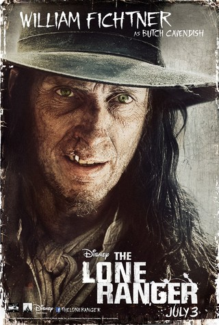 The Lone Ranger - Movie Poster #6 (Small)
