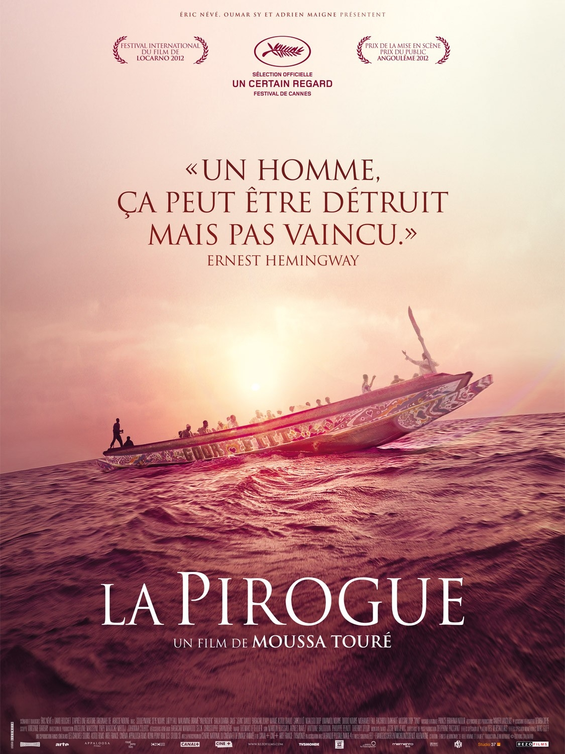 The Pirogue - Movie Poster #1 (Original)