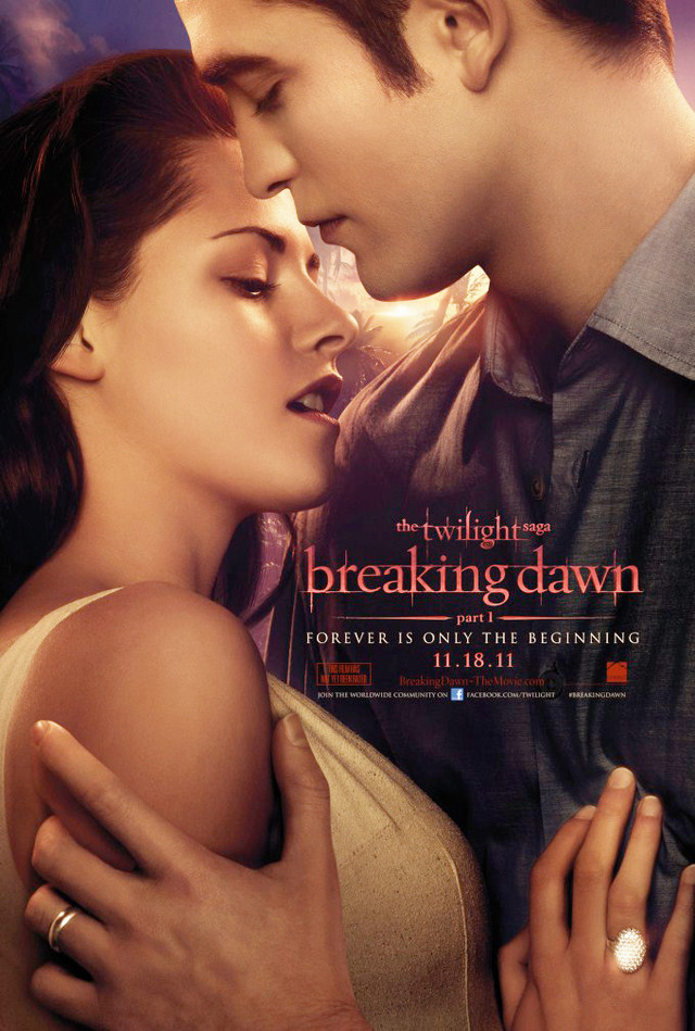 The Twilight Saga: Breaking Dawn - Part 1 - Movie Poster #1