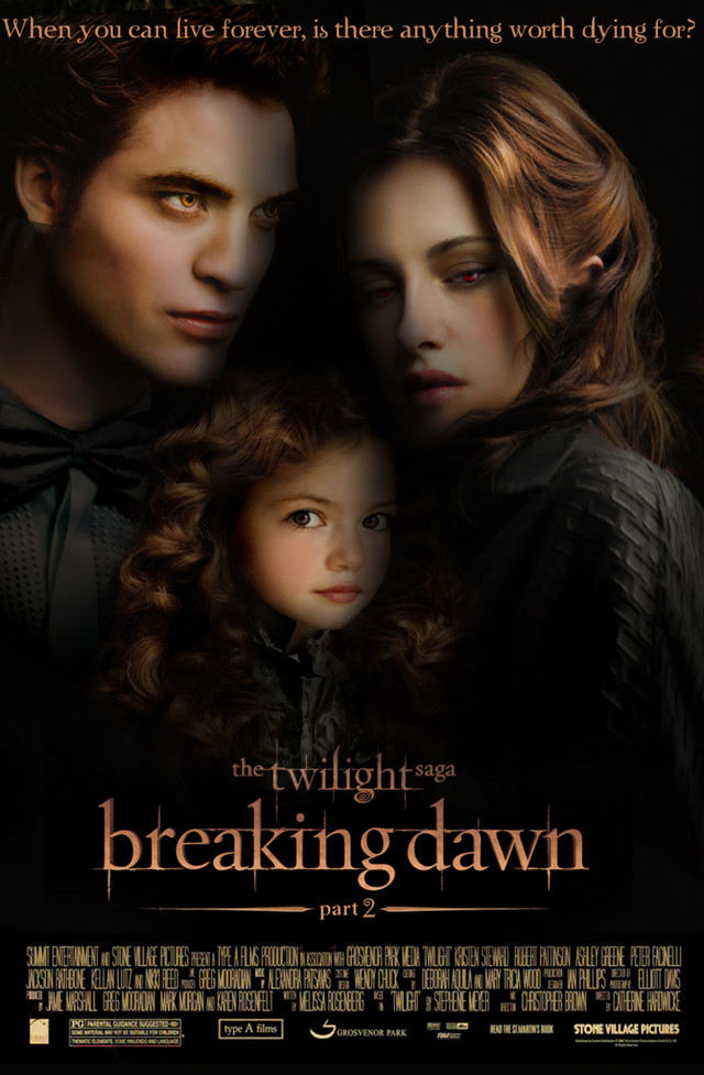 The Twilight Saga: Breaking Dawn - Part 2 - Movie Poster #1 - Funrahi