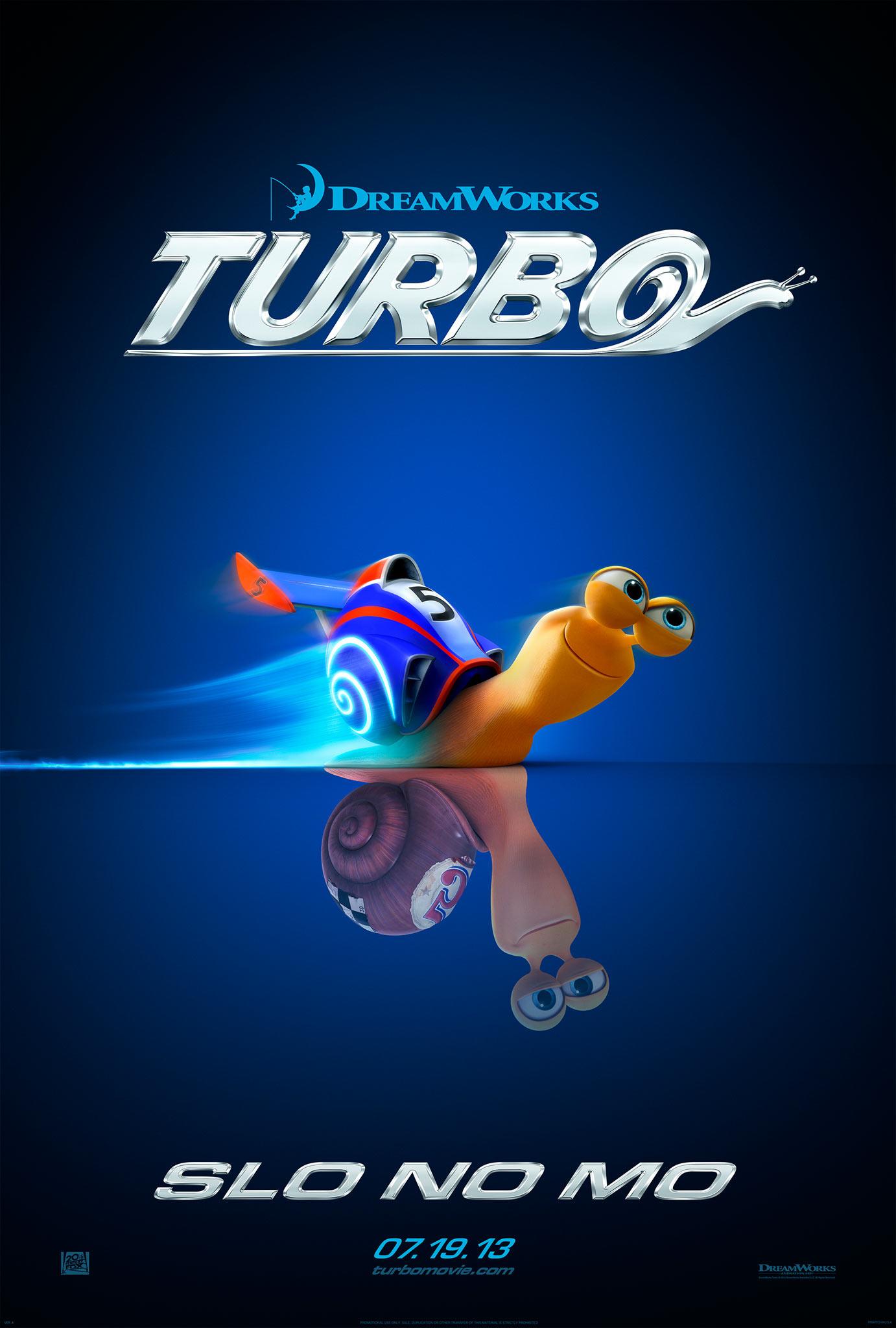 Turbo - Movie Poster #1 (Original)