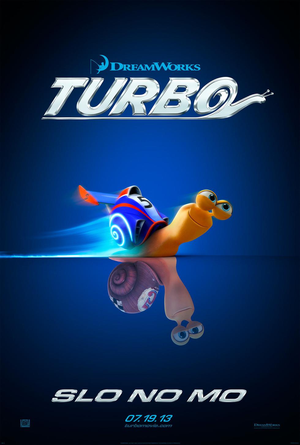Turbo - Movie Poster #1 (Large)