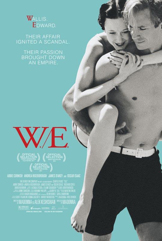 W.E. - Movie Poster #1 (Original)