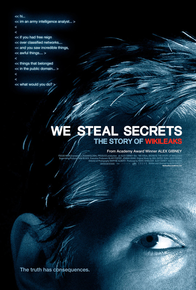 We Steal Secrets: The Story of WikiLeaks - Movie Poster #1 (Medium)