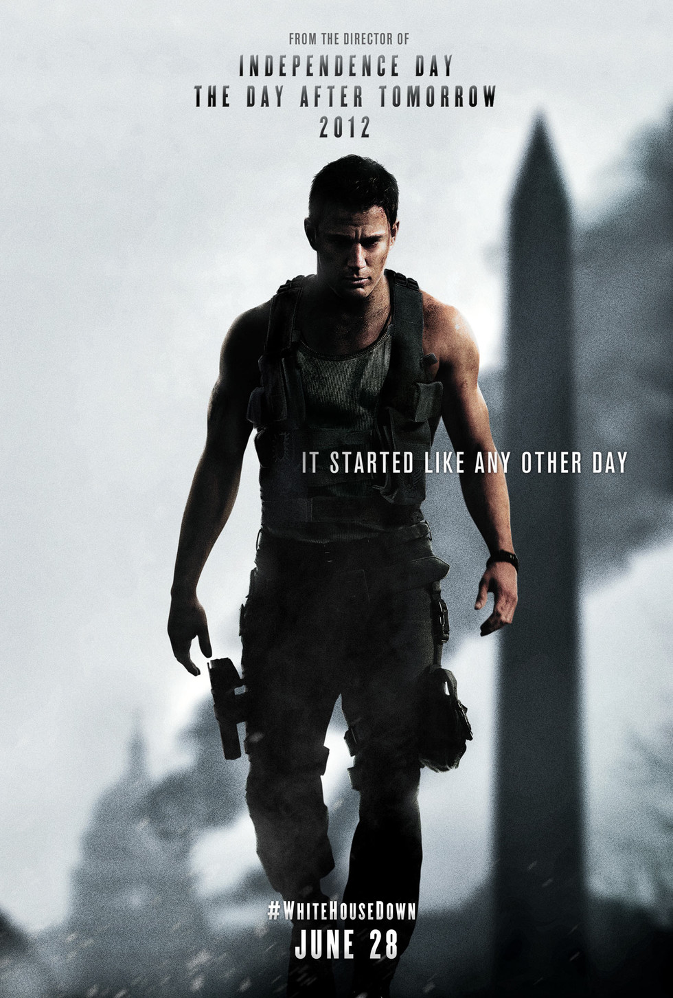 White House Down - Movie Poster #1 (Large)
