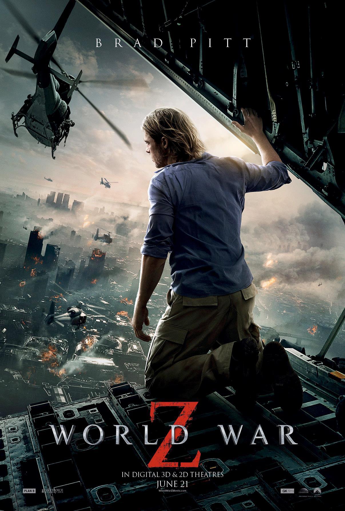 World War Z - Movie Poster #2 (Original)