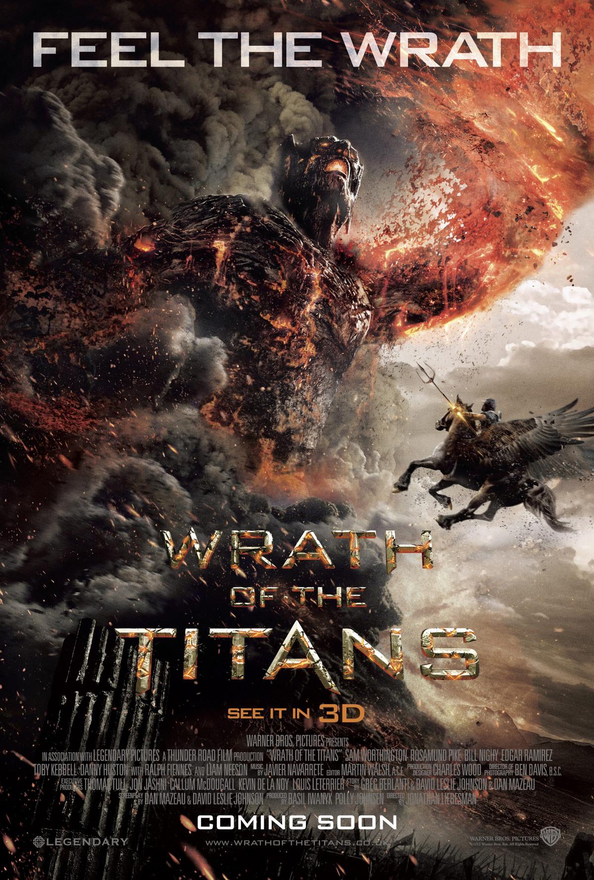 Wrath of the Titans - Movie Poster #1 (Original)