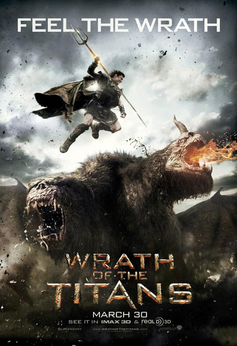 Wrath of the Titans - Movie Poster #2 (Original)