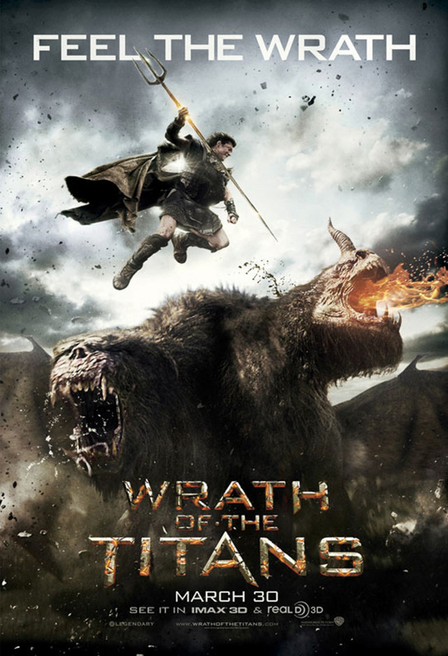 Wrath of the Titans - Movie Poster #2