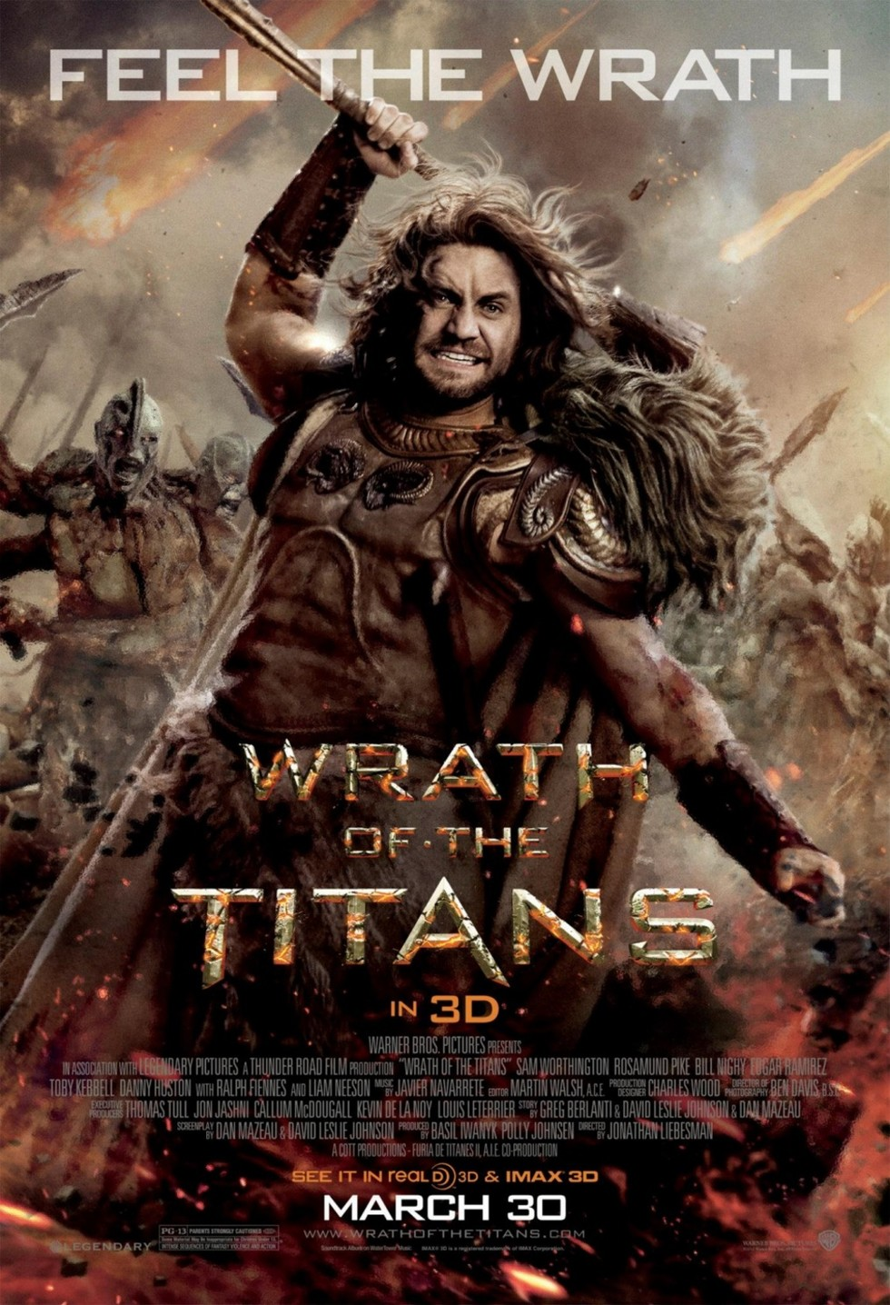 Wrath of the Titans - Movie Poster #3 (Large)