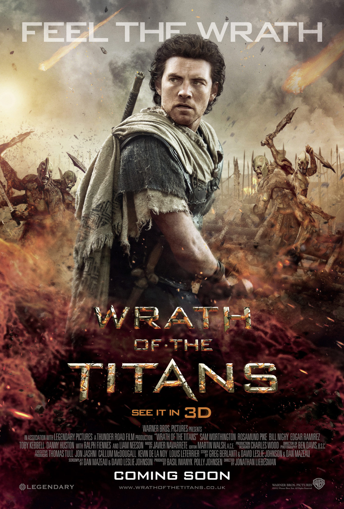 Wrath of the Titans - Movie Poster #4 (Original)