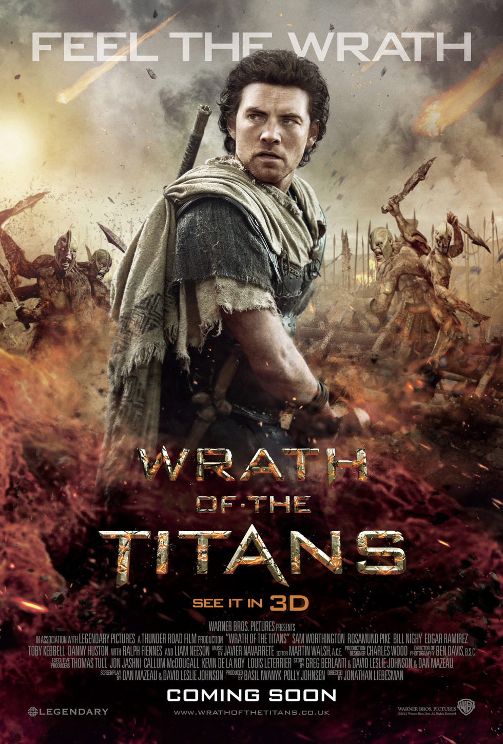 Wrath of the Titans - Movie Poster #4 (Large)