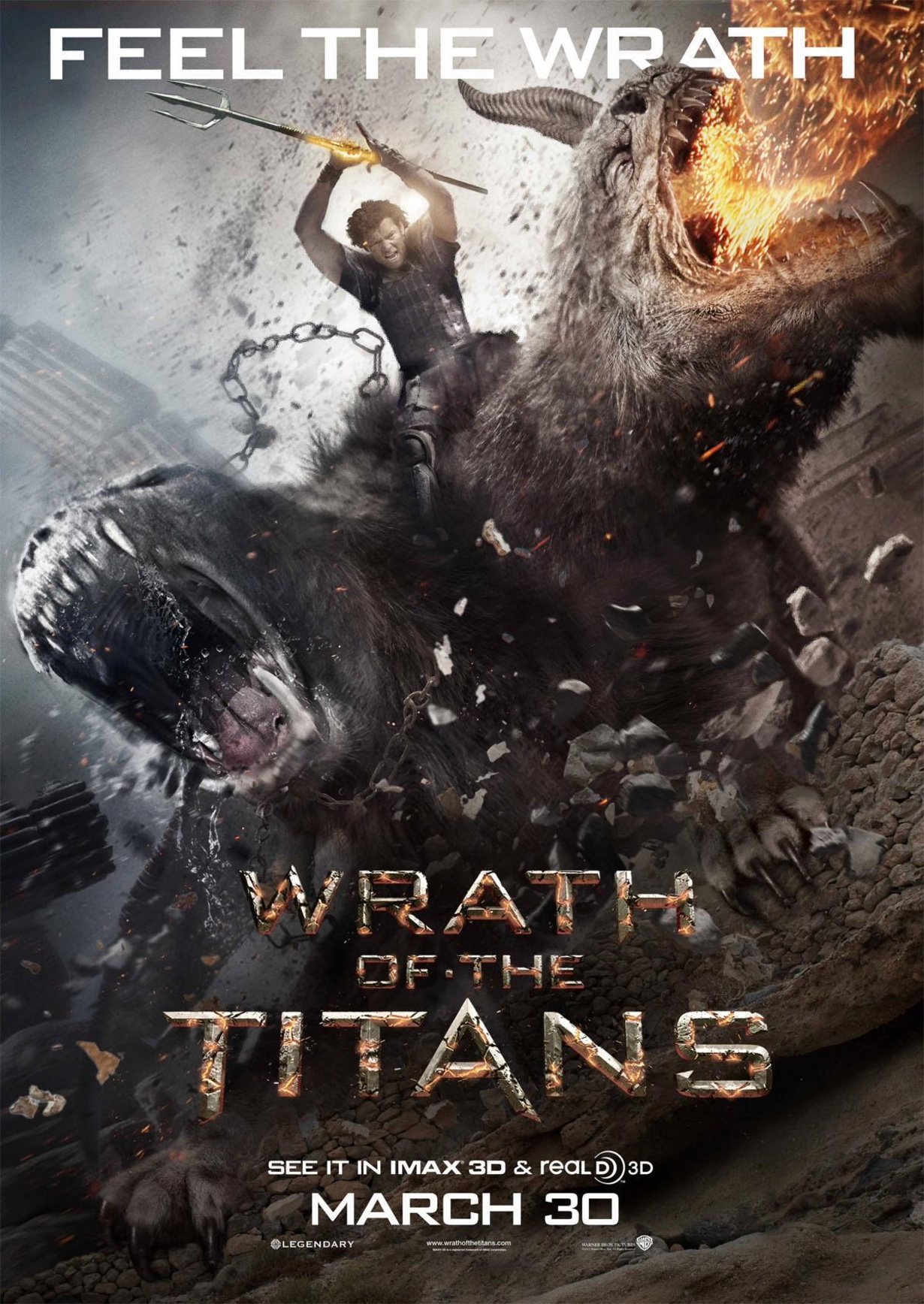 Wrath of the Titans - Movie Poster #5 (Original)