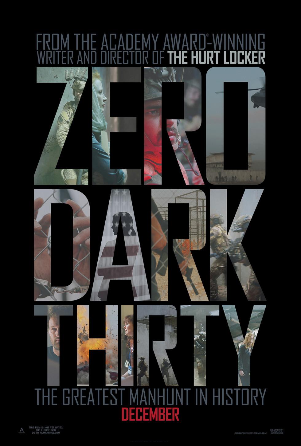 Zero Dark Thirty - Movie Poster #1 (Large)
