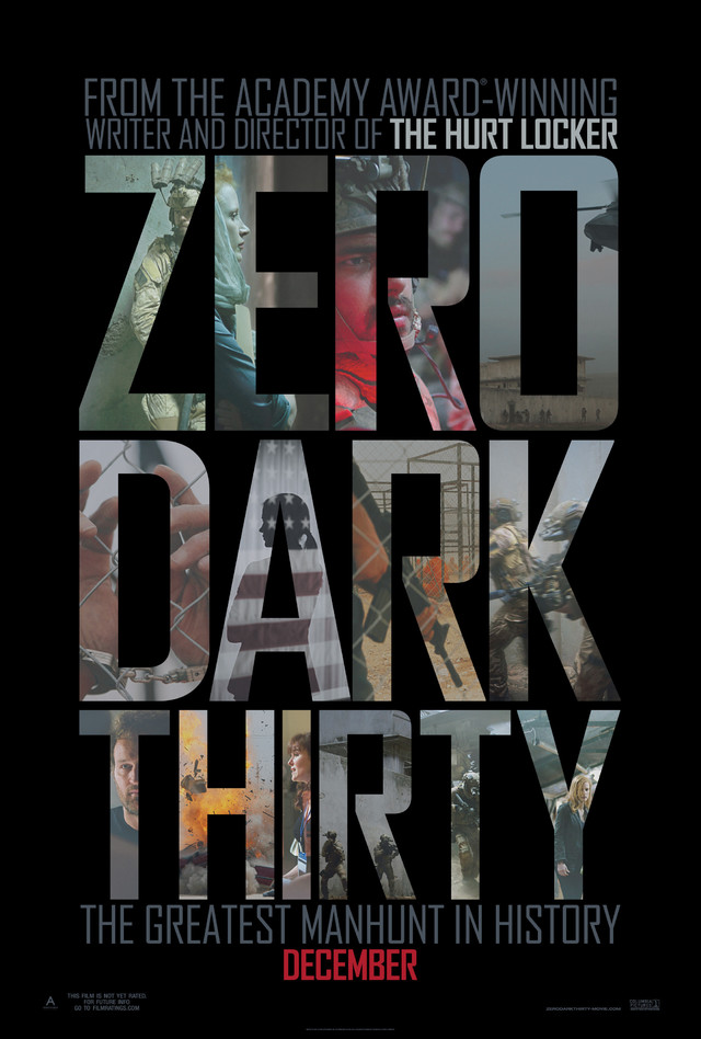 Zero Dark Thirty - Movie Poster #1 (Medium)