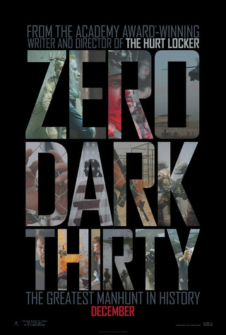 Zero Dark Thirty - Movie Poster #1 (Small)