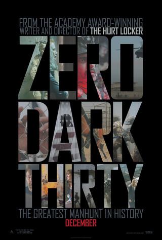 Zero Dark Thirty - Movie Poster #1 (Small)