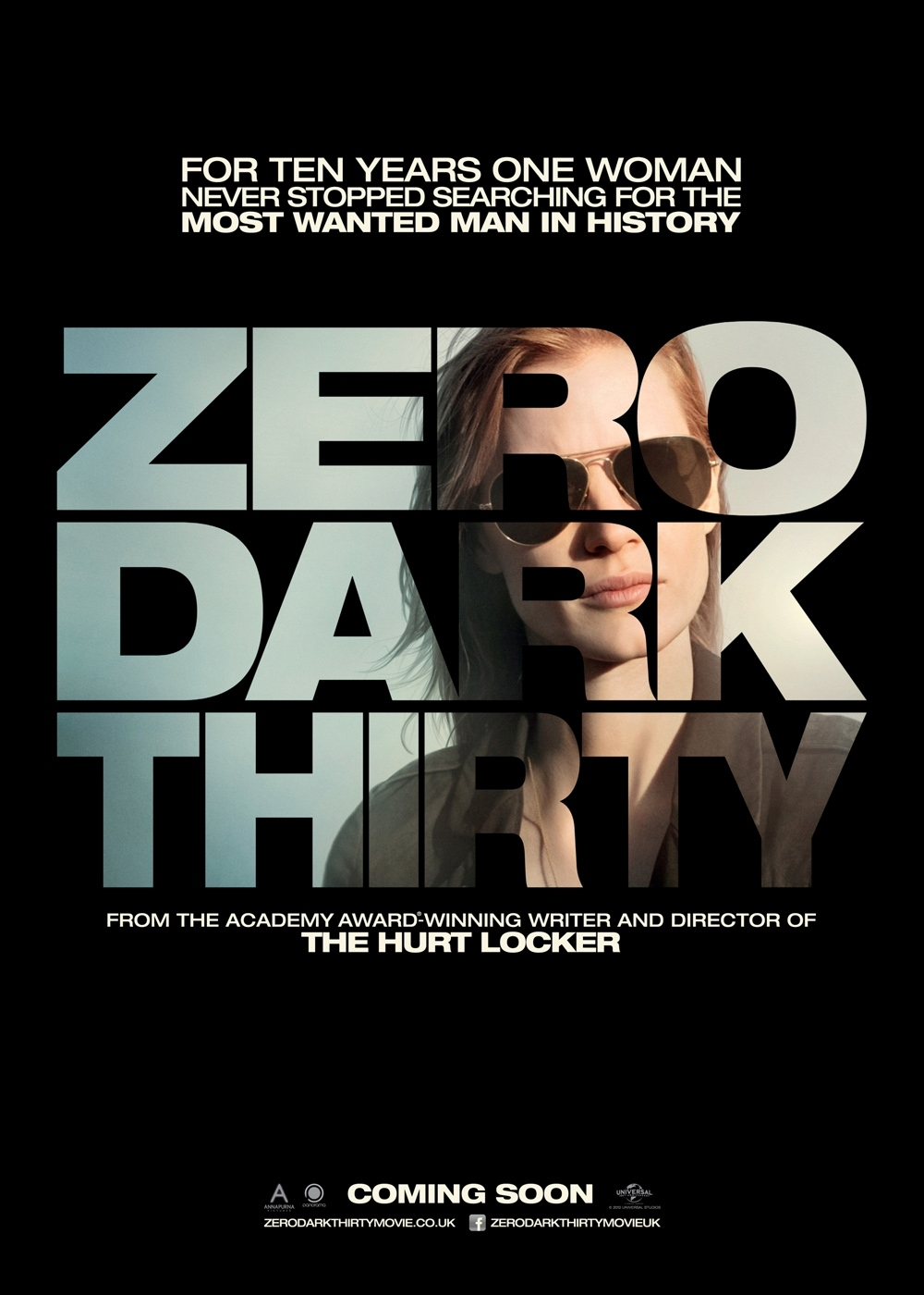 Zero Dark Thirty - Movie Poster #2 (Original)