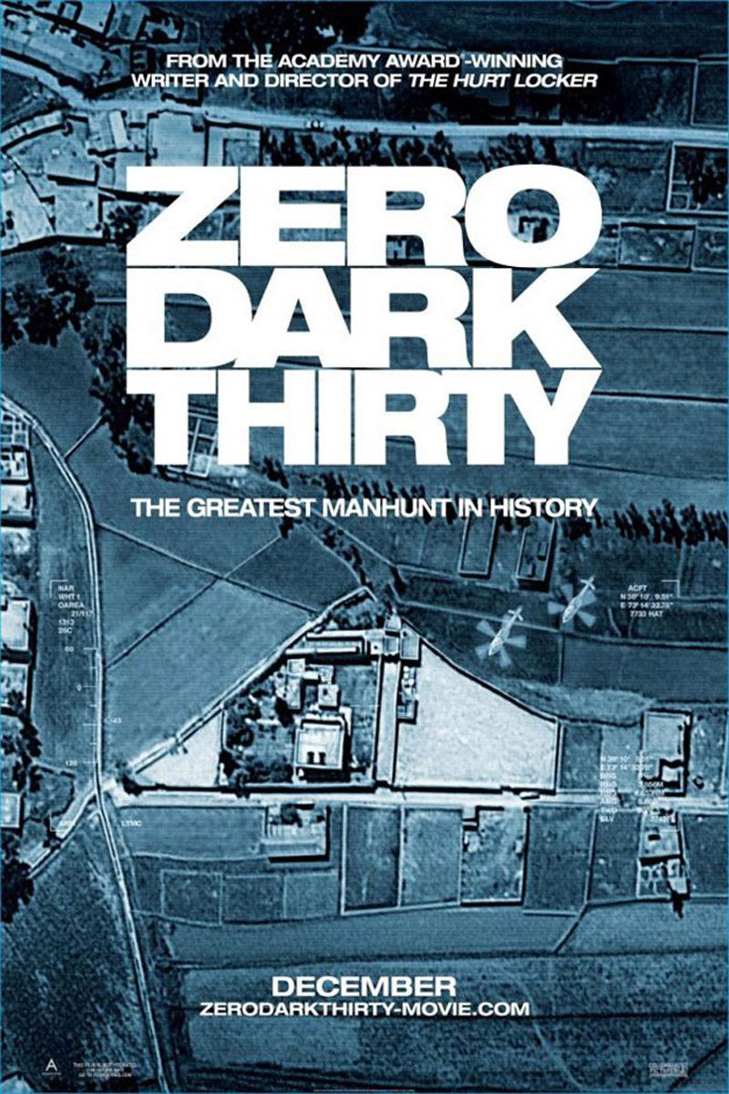 Zero Dark Thirty - Movie Poster #3 (Original)