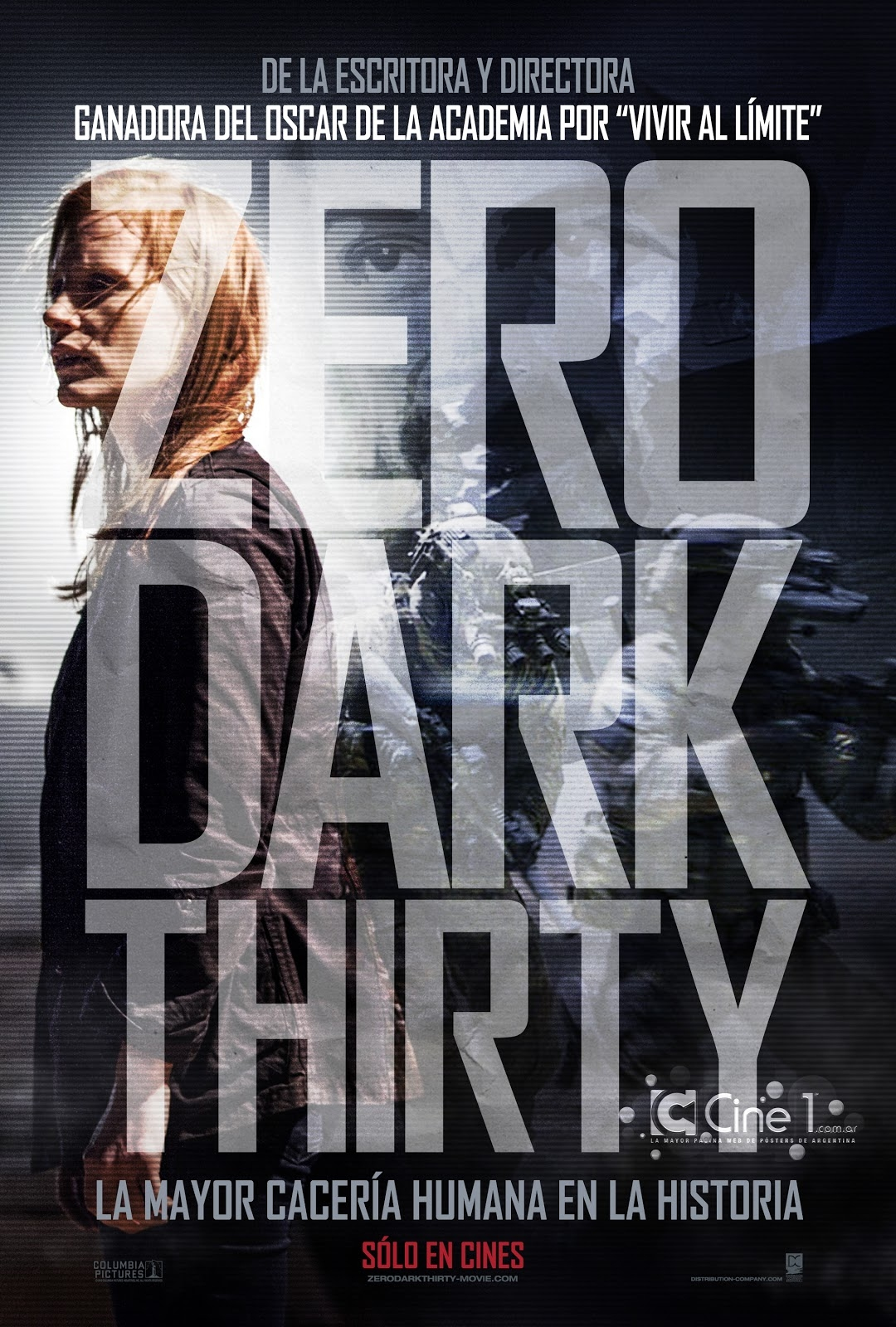 Zero Dark Thirty - Movie Poster #4 (Original)