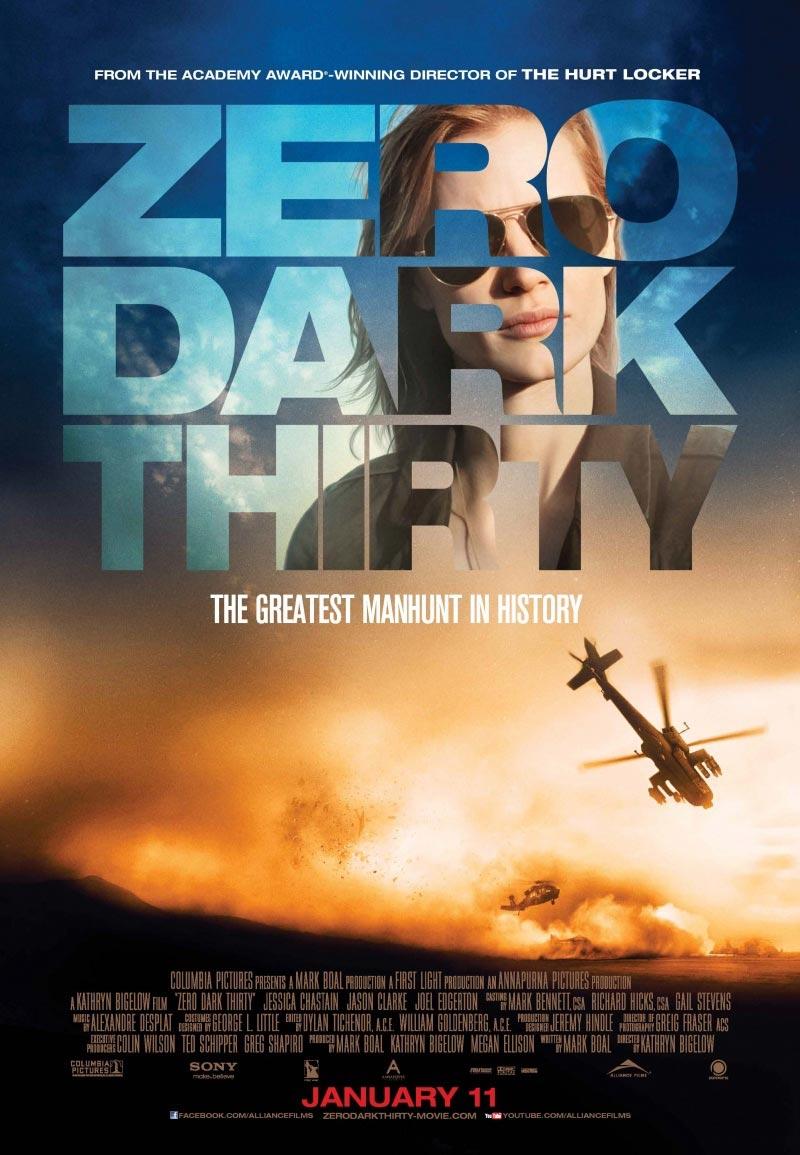 Zero Dark Thirty - Movie Poster #5 (Original)