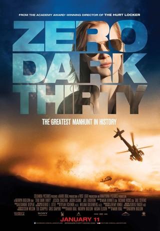 Zero Dark Thirty - Movie Poster #5 (Small)