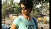 Gul Panag Selling 'Fatso' Movie Tickets
