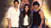 Vidyut Jammwal, Pooja Chopra And Vipul Shah At 'Commando' Event