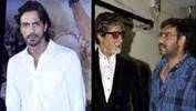 Amitabh, Ajay, Arjun At Satyagraha's Song Launch