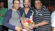 Shreyas throws party to celebrate 'Poshter Boyz' success