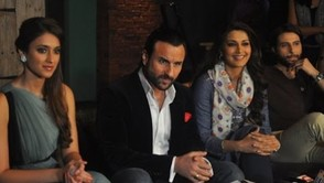 Saif And Ileana On Television Show 'Ajeeb Dastan Hai Yeh'