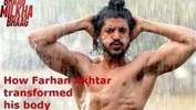 Farhan Akhtar Reveals The Secret Of His Body In Bhaag Milkha Bhaag ...