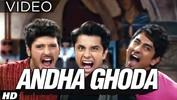 Andha Ghoda Race Mein Dauda Video Song - CHASHME BADDOOR - ALI ZAFAR, SIDDHARTH, TAAPSEE PANNU