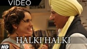 Halki Halki Video Song ft. Sunny Deol, Kangana Ranaut - Shaan, Tulsi Kumar - I Love New Year