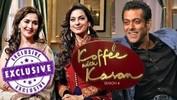 Koffee With Karan Season 4 - Juhi Chawla & Madhuri Dixit Call Salman Khan 'BHAI'