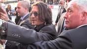 Johnny Depp shines at Dark Shadows Premiere