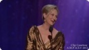 2012 Oscar Winners: The Artist, Meryl Streep, Jean Dujardin