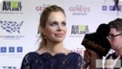 """True Blood's"" Kristin Bauer at the 2012 Genesis Awards"