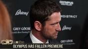 Olympus Has Fallen Premiere - Gerard Butler, Morgan Freeman