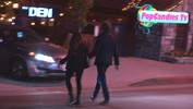 Chris O'Dowd & Dawn Porter arrive at the Den in in WeHo